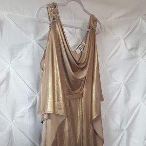 Badgley  Mischka  prom dress